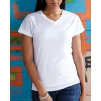 1507 - Ladies' V-Neck Sublimation T-Shirt