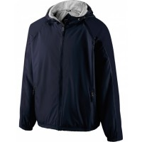 229111 - Adult Polyester Full Zip Hooded Homefield Jacket