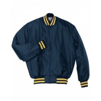 229140 - Adult Polyester Full Snap Heritage Jacket