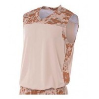 N2345 - Adult Printed Camo Performance Muscle Shirt